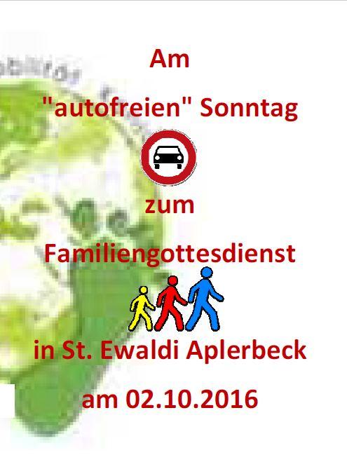 autofreien Sonntag in St. Ewaldi Dortmund