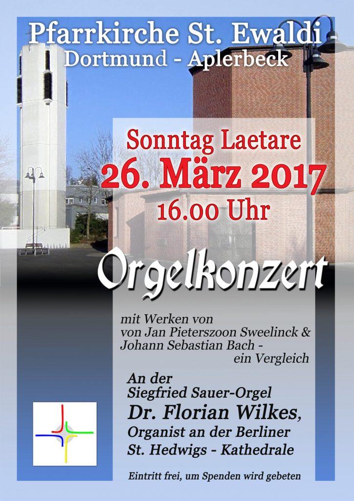 Orgelkonzert März 2017