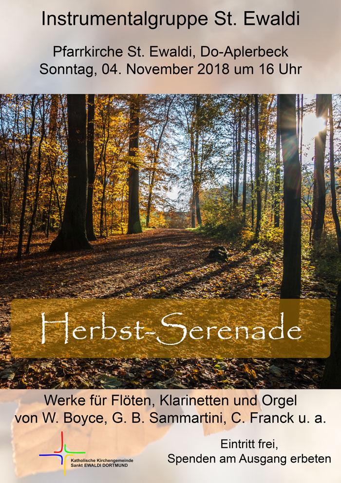Herbst-Serenade 2018 Instrumentalgruppe St. Ewaldi