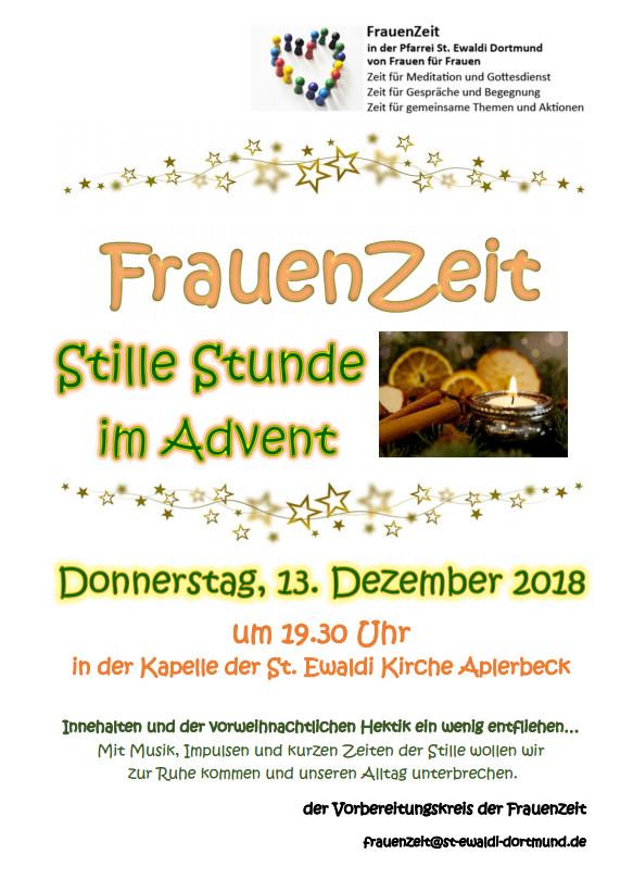 20181213 Frauenzeit Stille Stunde