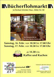 Bücherflohmarkt in der Bücherei St. Marien in Sölde am 16./17.02.2019 @ Gemeindehaus St. Marien Sölde | Dortmund | Nordrhein-Westfalen | Deutschland