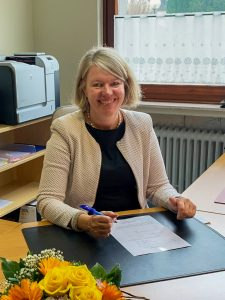 Gemeindesekretärin Manuale Gottstein
