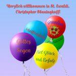 Begrüßung Christopher Bönninghoff